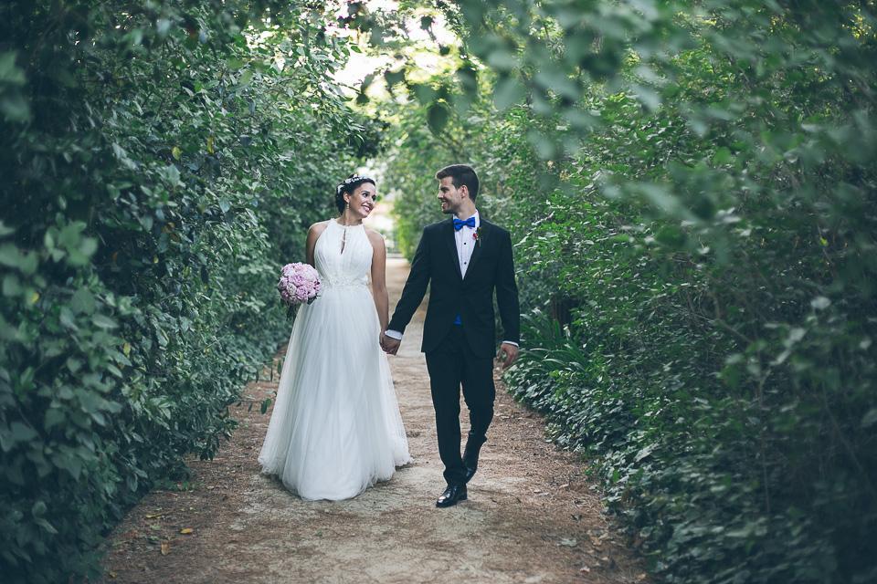 Fotografía de boda en Finca del Valle