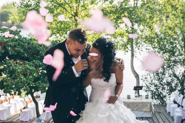 Fotos de boda en laguna de las madres